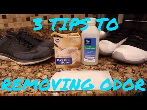 TOP 3 WAYS TO REMOVING SNEAKER ODOR!