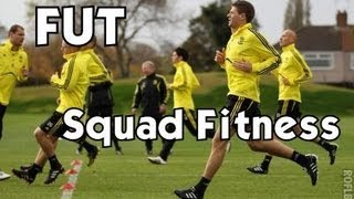 Fifa 13 Ultimate Team: Quick Tip #1 I Squad Fitness