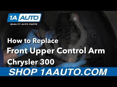 How to Install Replace Upper Control Arm Assembly 2008 Chrysler 300 Buy Auto Parts at 1AAuto.com