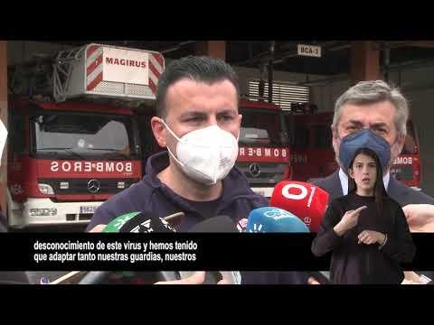 VIDEONOTICIA ACCESIBLE: Las actuaciones de los bomberos bajan un 12% en 2020 en Córdoba