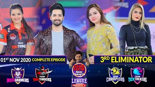 Game Show Aisay Chalay Ga League Season 3 | 3rd Eliminator | 1st November 2020 | Complete Show