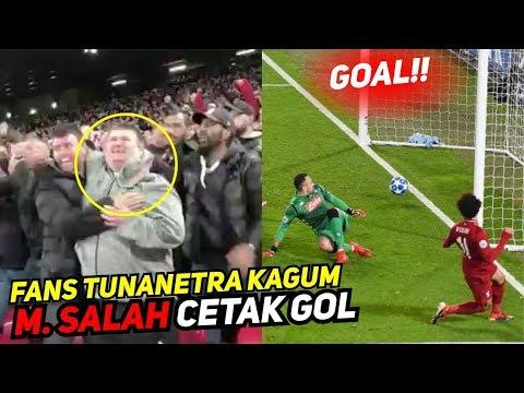 Detik-detik Gol M. SALAH Dikagumi Fans Tunanetra.