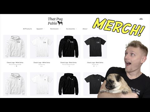PABLO MERCH IS HERE!