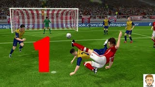 Dream League soccer 18 Real Madrid Vs Zex Gemox gameplay part #1