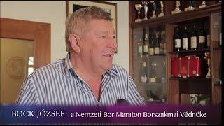 A Nemzeti Bor Maraton Borszakmai Védnöke: BOCK JÓZSEF
