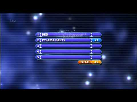 Family Fortunes - ITV - Dave Myers - Against - Jack Shepherd - 2014  -  (Aired - 25/1/2015)