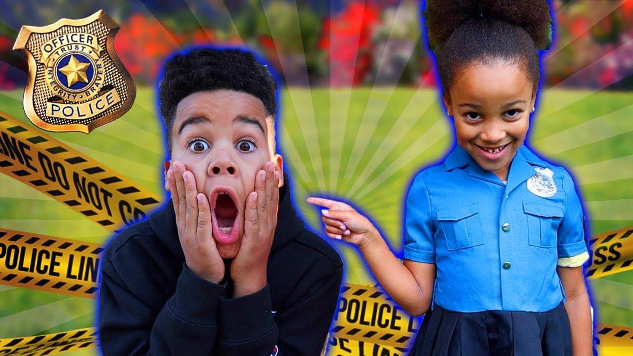 Police Girl Best Moments | FamousTubeKIDS