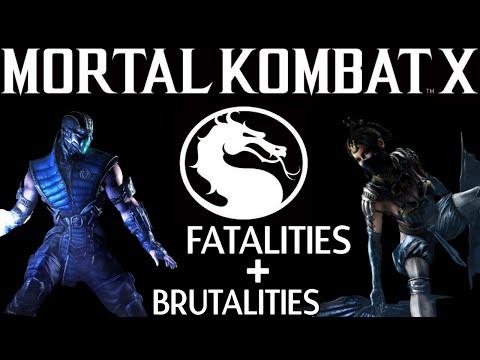 MORTAL KOMBAT X - Fatality Und Brutality Tutorial «» Part 2 [HD]
