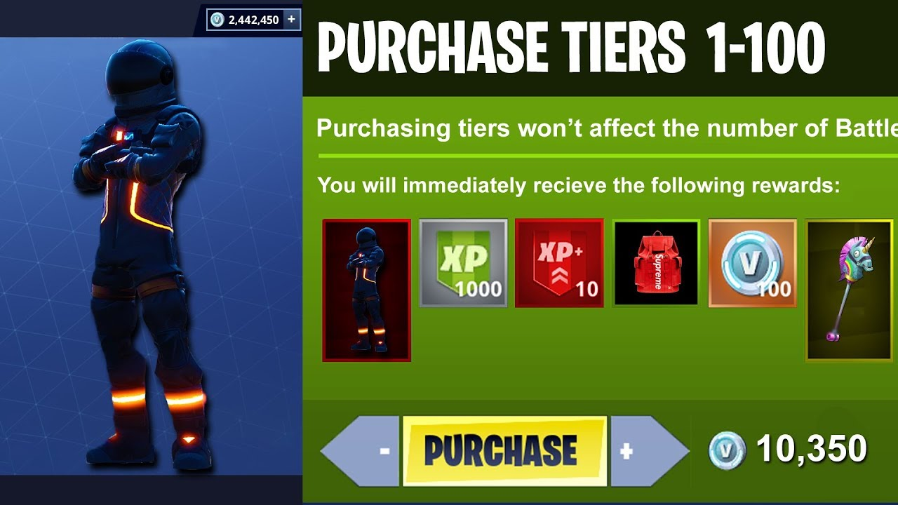 Season 3 Unlocking All 100 Tiers Battle Pass Update In