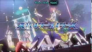 Spider Riders Opening 1 - Alright [SUB]