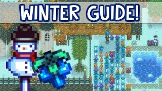 ❄️Crystal Fruit Wine Project!❄️ - *WINTER GUIDE!* - Stardew Valley