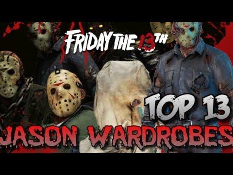 TOP 13 Jason Wardrobes - Friday The 13th