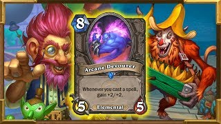 Hearthstone: Arcane Devourer Is Good? I Tried To Make This Card Work - Rise of Shadows New Decks