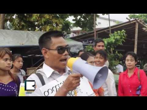 Activist Takes Solo Protest over Myanmar's Ruined Rule of Law