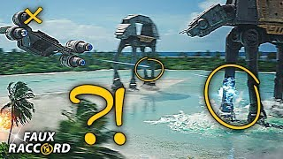 Les (GRAVES?) Erreurs de Star Wars ROGUE ONE - Faux Raccord