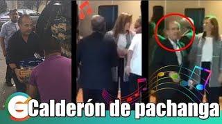 Felipe Calderón se fue de