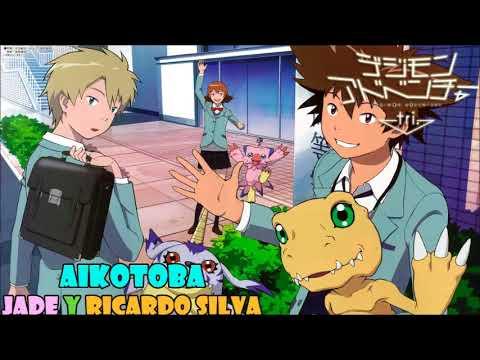 Aikotoba (Digimon Adventure Tri ending 5) cover latino by Jade y Ricardo Silva