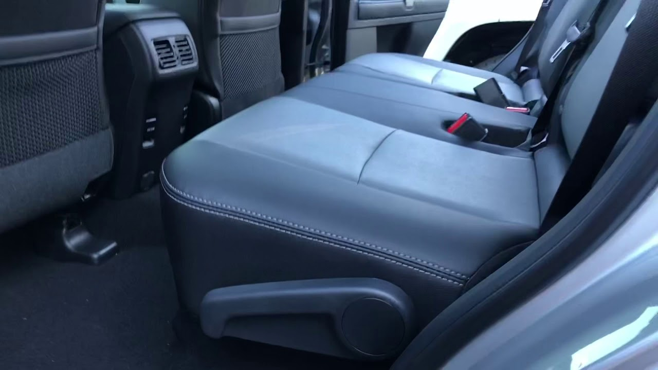 Toyota 4Runner Seating >> 2019 Toyota 4runner How 2nd 3rd Row Seats Work