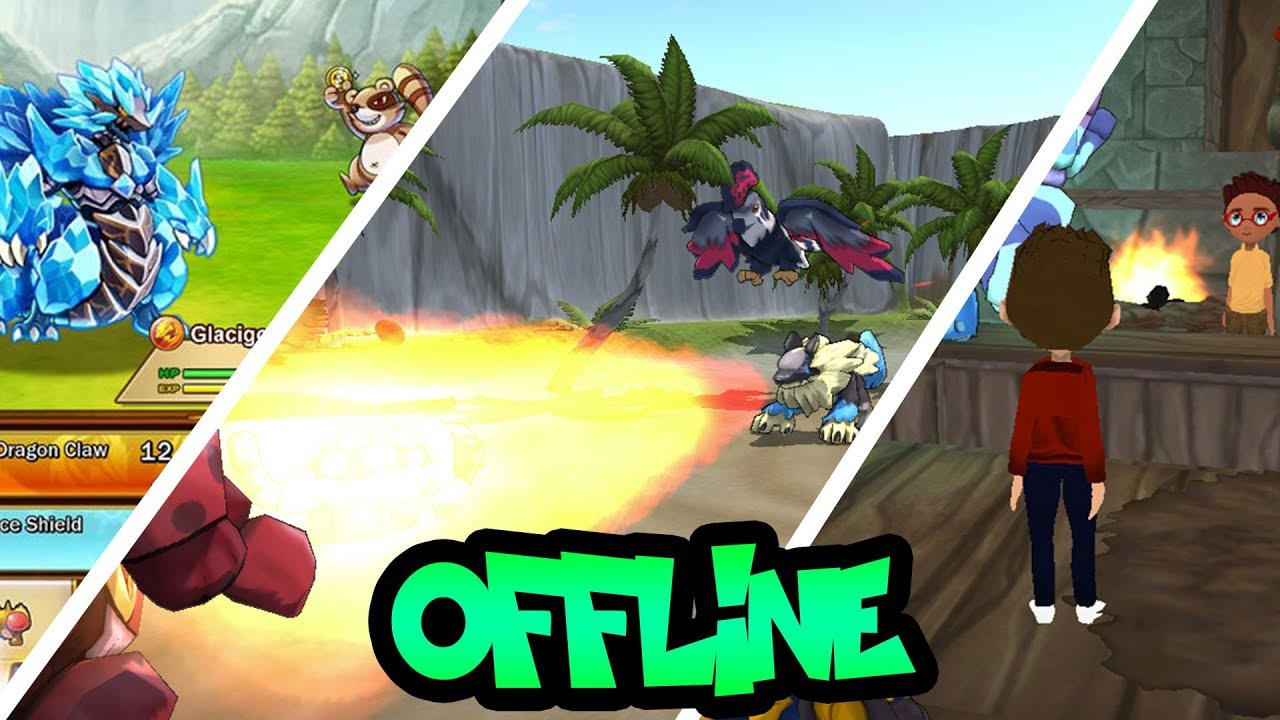 TOP 5 OFFLINE POKEMON LIKE GAMES FOR ANDROID     YouTube TOP 5 OFFLINE POKEMON LIKE GAMES FOR ANDROID