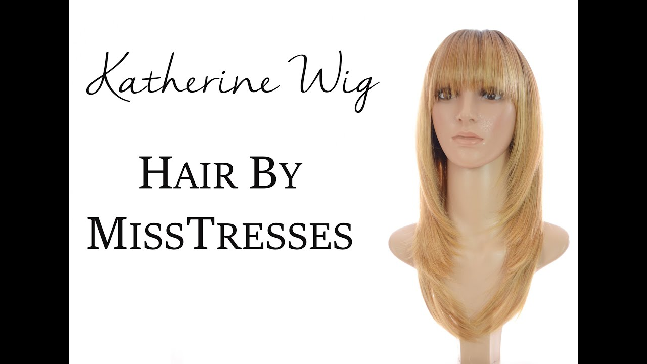Katherine Praline Creme | Face Framing Feather Cut Wig | Hair By ...