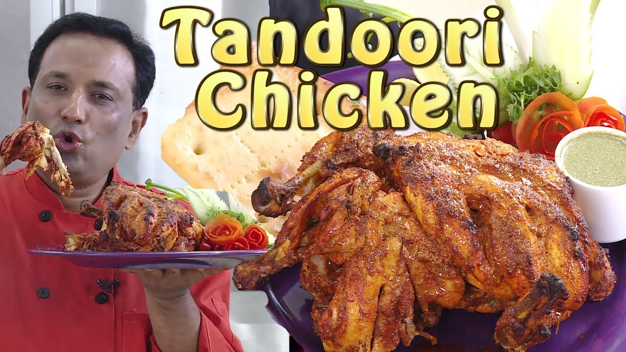 Tandoori Chicken Restaurant style With Vahchef - Tandoori Recipes of India by Vahchef