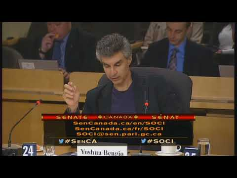 Yoshua Bengio Testifies About Artificial Intelligence to The Canadian Senate