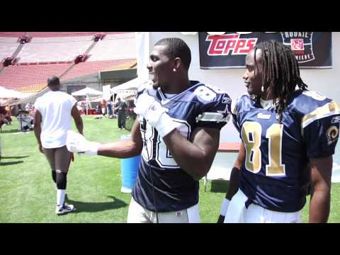 Dez Bryant Free-style rapping