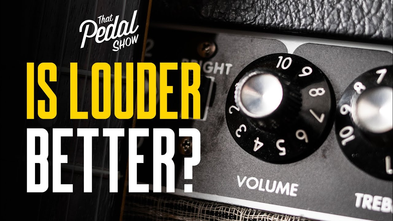 Download How Loud Is Loud & Why Does It Matter For Electric Guitar? – That Pedal Show