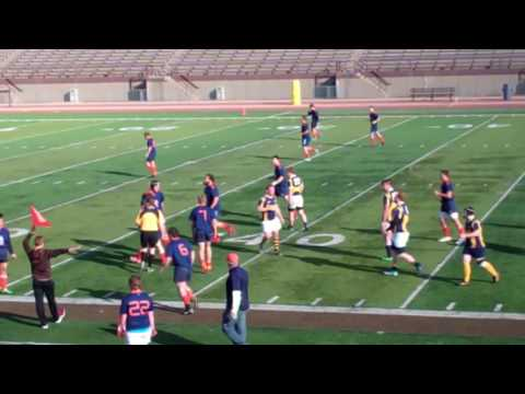 John Carroll University Rugby vs Hope College Playoff Game