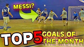 TOP 5 GOALS OF THE MONTH #01 | 2014