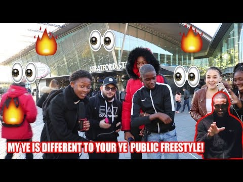 My Ye Is Different To Your Ye Public Freestyle!