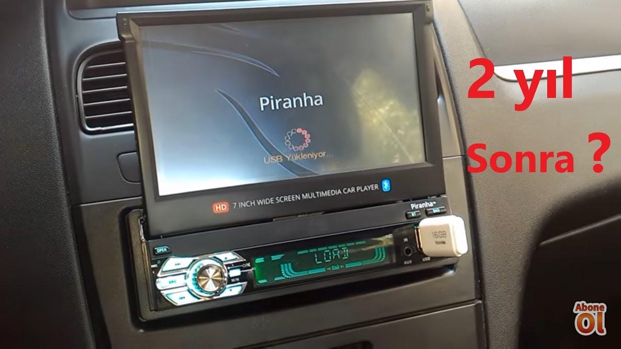 Piranha 7715 Ototeyp Montajı