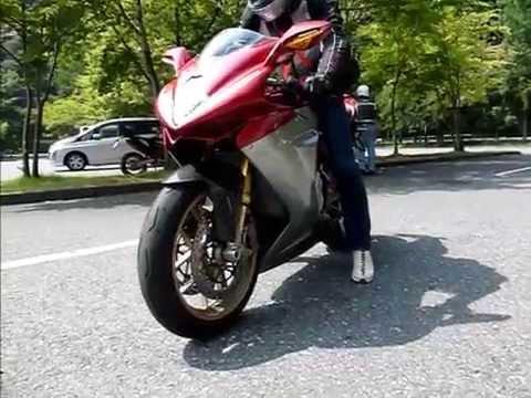 2012 July MV Agusta F3 Serie Oro in Japan