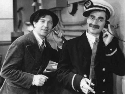 Groucho Marx as Flywheel, Shyster and Flywheel in The Kidnapping Original Air Date:  Feb. 13, 1933