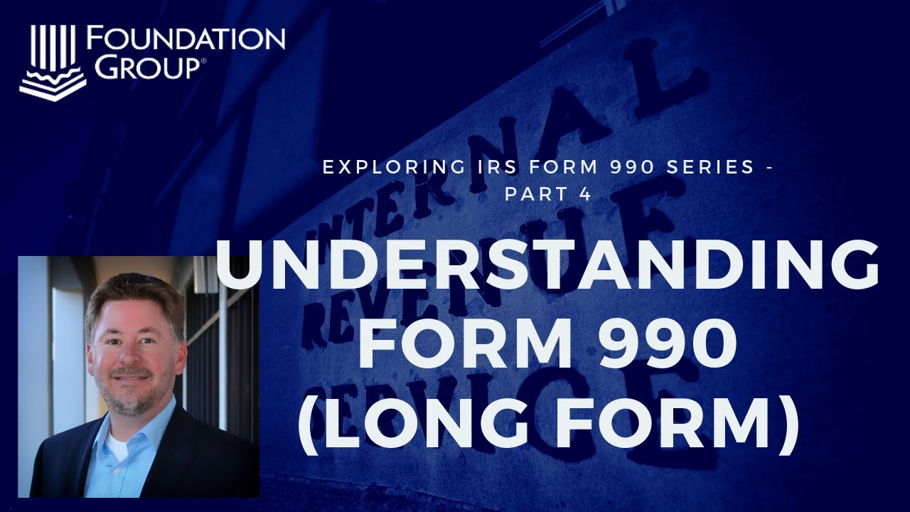 Understanding the irs form 990 youtube understanding the irs form 990 falaconquin