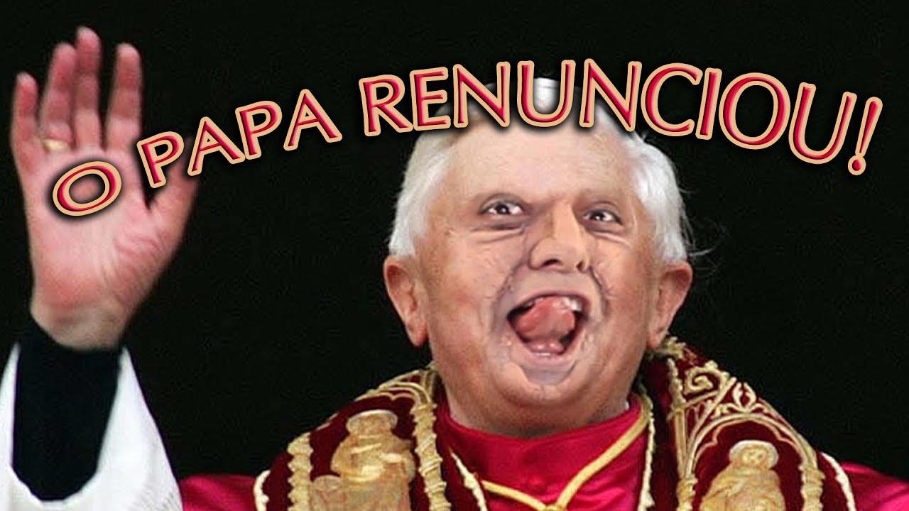 O PAPA RENUNCIOU! - Paródia MACKLEMORE & RYAN LEWIS   THRIFT SHOP #1