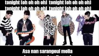 Big Bang - Tonight Lyrics (Romanization & English)