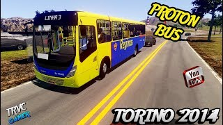 [PROTON BUS SIMULATOR]Torino 2014 OF-1721 BlueTec 5 skin reginas