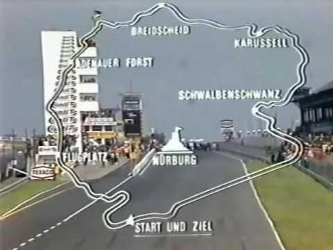 Formula 1 full Grand Prix in Nurburgring Nordschleife, Germany - 1973