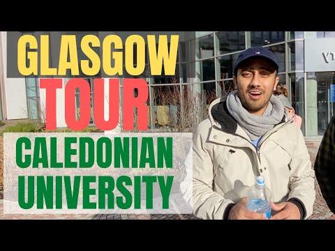 Glasgow Caledonian University Campus Tour