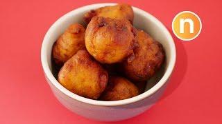 Fried Banana Balls | Cekodok Pisang | Kuih Kodok | Cucur Pisang [Nyonya Cooking]