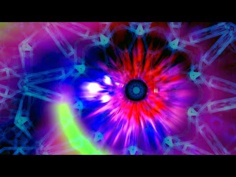 2HR Techno Mix | 4K Hypnotic Kaleidoscope Visuals