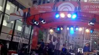 Rascal flatts payback from today show sound check