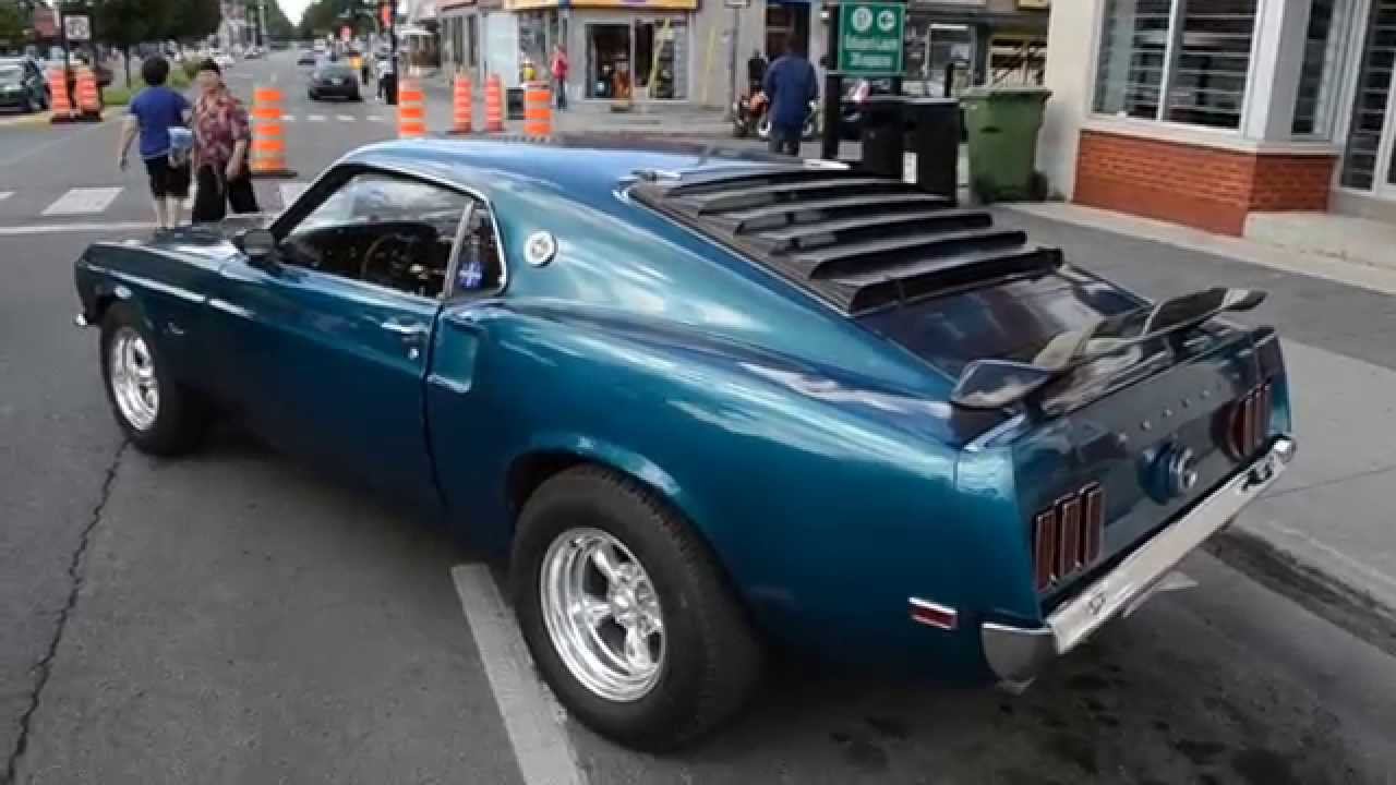 1969 FORD MUSTANG - OLD SCHOOL STYLE - YouTube