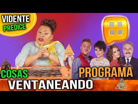 VENTANEANDO TV AZECA PREDICCIONES DE PRESENTADORES PATY CHAPOY PEDRO SOLA DANIEL BISOGNO