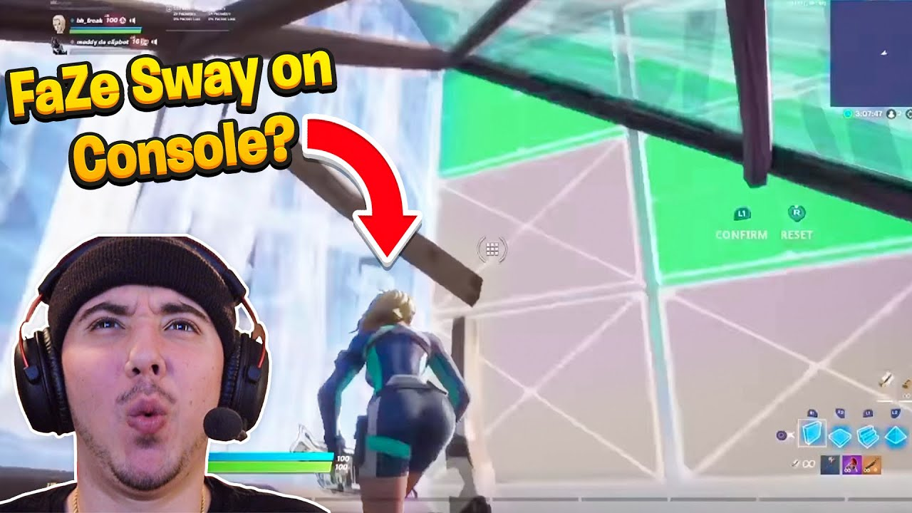Reacting to the 60FPS Version of FaZe Sway... *He's Unreal* BEST Fortnite Controller Player!