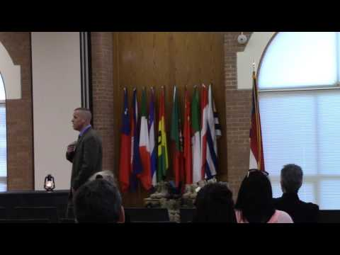 22 Vet Memorial Opening Ceremony at Fayetteville Technical Community College in North Carolina Pt 3