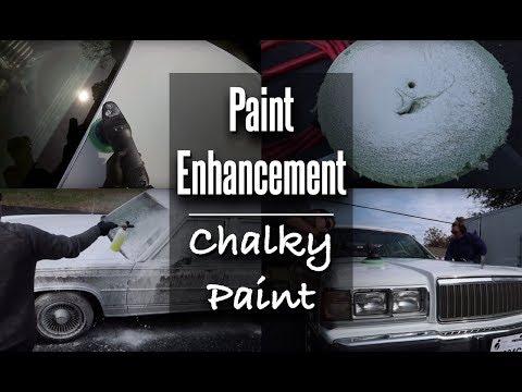 Exterior Detail // Polishing White Oxidized Paint // Mercury Grand Marquis Colony Parkway Wagon