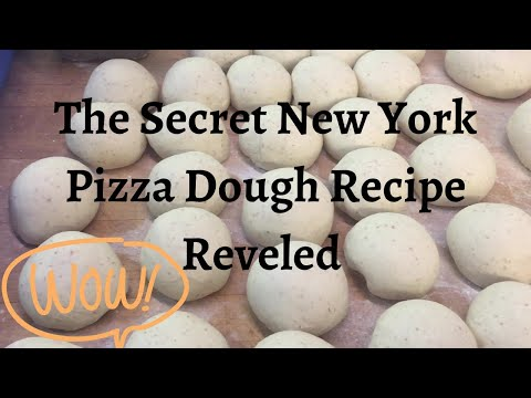 Sharing The Secret Of The Best New York Style Pizza Dough Recipe