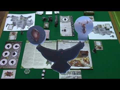 Играем в настольную игру Отголоски - миссия 1